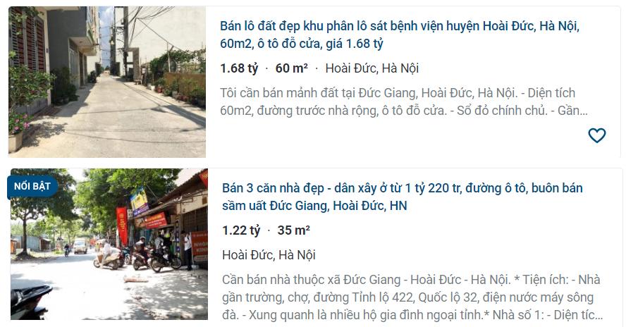 Giá đất đường Tỉnh lộ 442, Hoài Đức, Hà Nội - Ảnh 3.