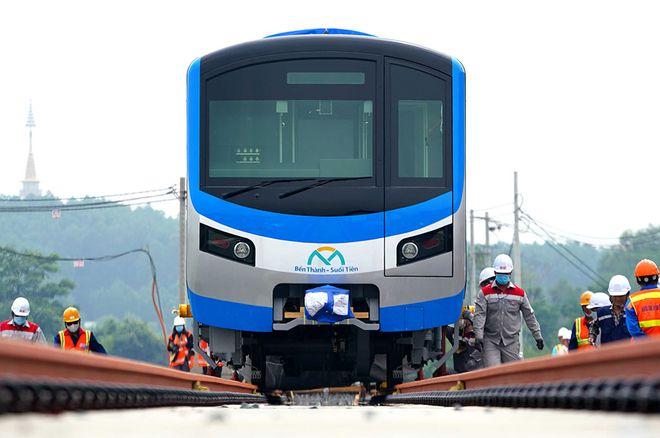 Lùi tiến độ tuyến metro Bến Thành - Suối Tiên tới năm 2022 mới vận hành thương mại - Ảnh 1.
