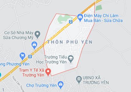 Đấu giá hơn 900 m2 đất tại xã Trường Yên, huyện Chương Mỹ, Hà Nội - Ảnh 1.