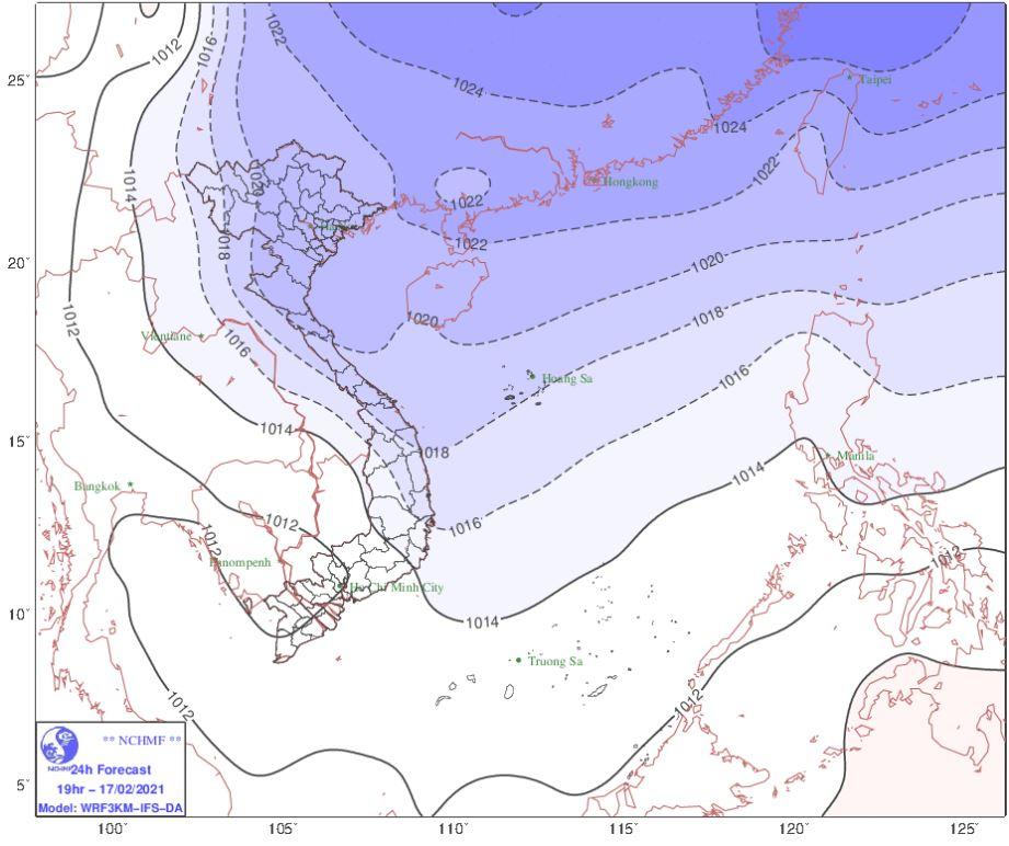 Thời tiết Hà Nội hôm nay 17/2: Đón không khí lạnh mới trời chuyển mưa rét, Hải Phòng mưa rào từ sáng sớm - Ảnh 1.