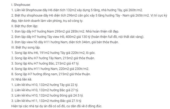 Giá đất Khu đô thị Tây Hồ Tây, Hà Nội - Ảnh 3.