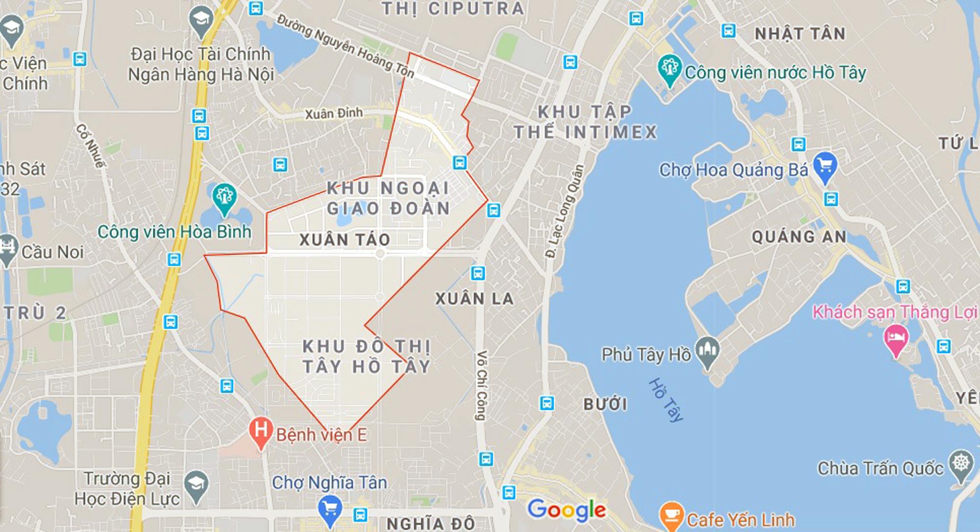 đường sẽ mở theo qui hoạch ở phường Xuân Tảo, Bắc Từ Liêm, Hà Nội - Ảnh 1.