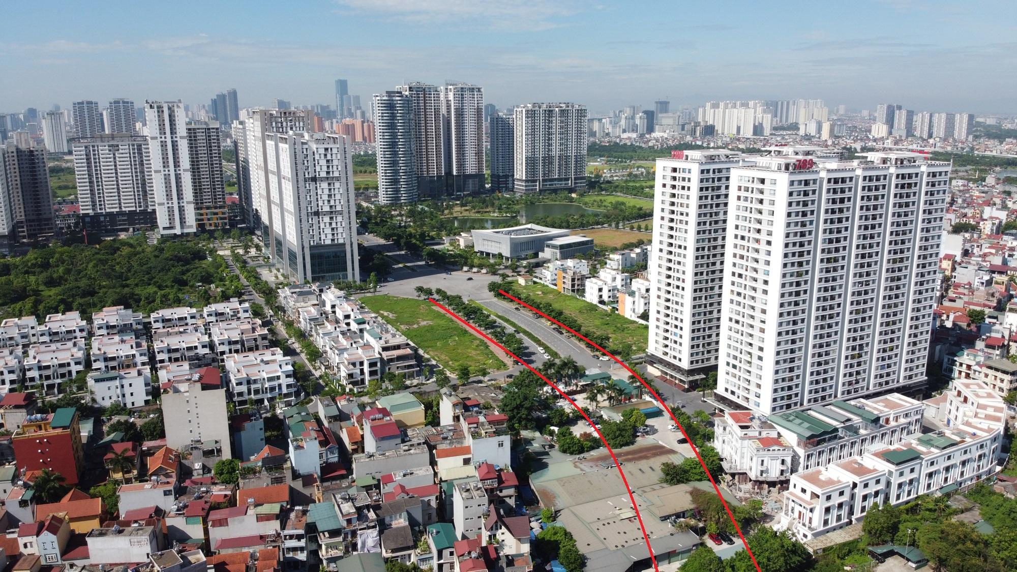 đường sẽ mở theo qui hoạch ở phường Xuân Tảo, Bắc Từ Liêm, Hà Nội - Ảnh 3.
