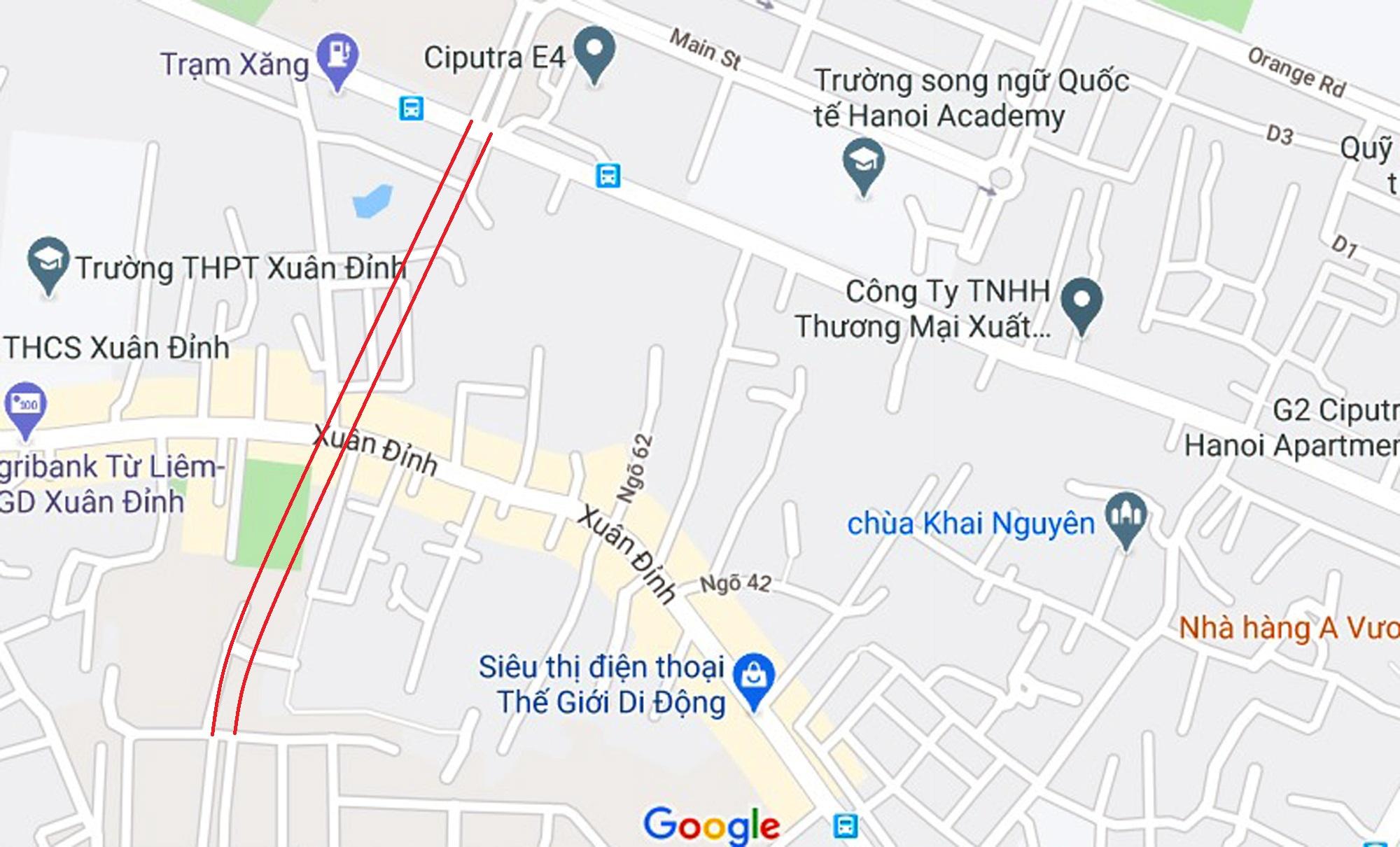 đường sẽ mở theo qui hoạch ở phường Xuân Tảo, Bắc Từ Liêm, Hà Nội - Ảnh 2.