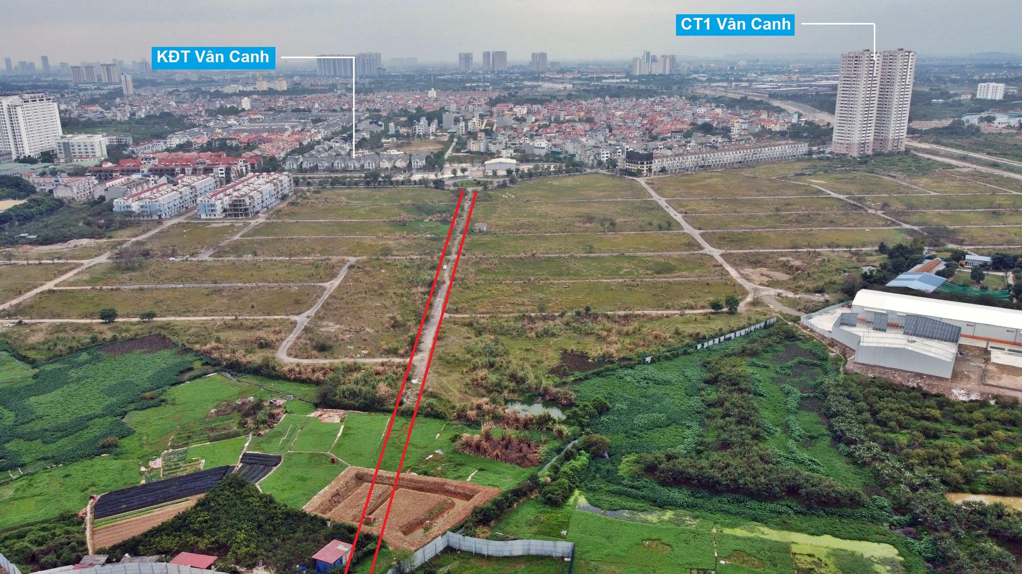 Ba đường sẽ mở theo qui hoạch ở phường Phương Canh, Nam Từ Liêm, Hà Nội (phần 2) - Ảnh 6.