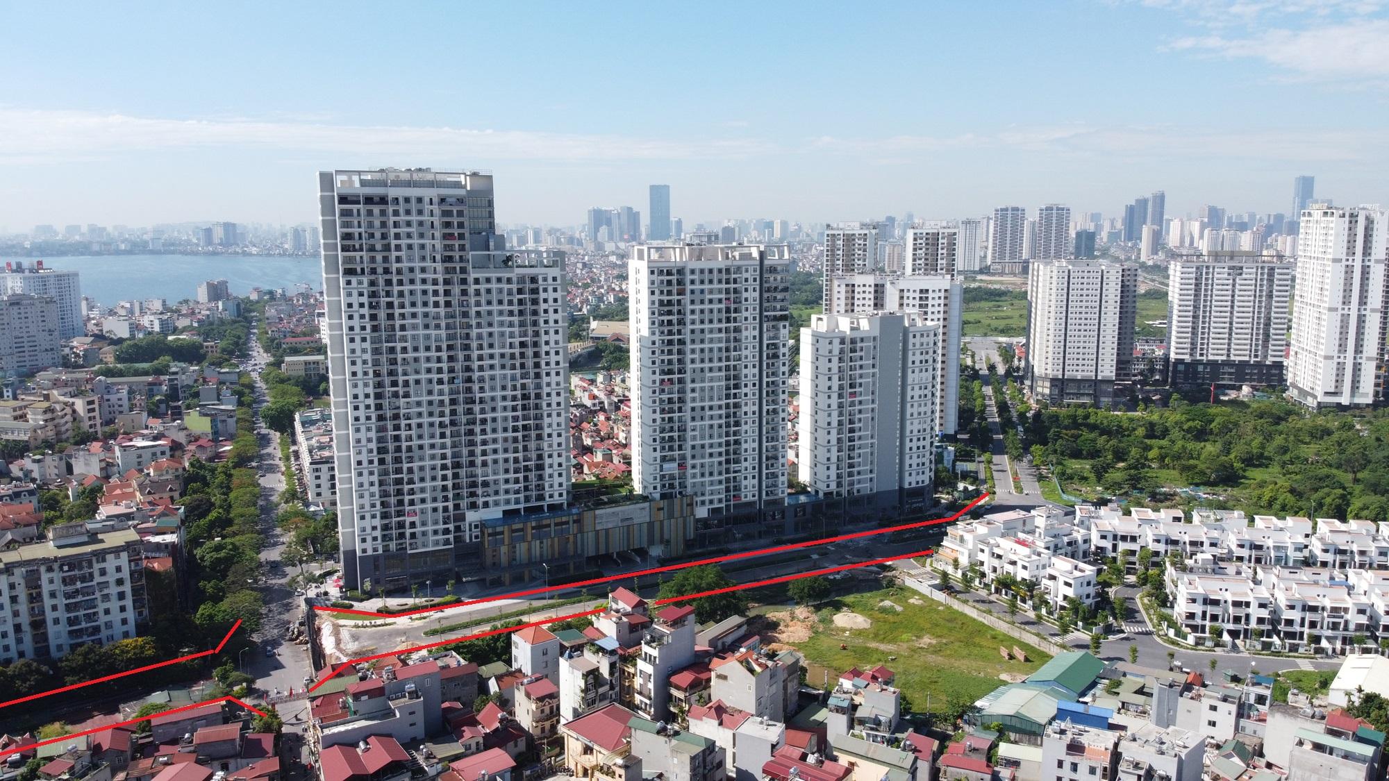 đường sẽ mở theo qui hoạch ở phường Xuân Tảo, Bắc Từ Liêm, Hà Nội - Ảnh 7.
