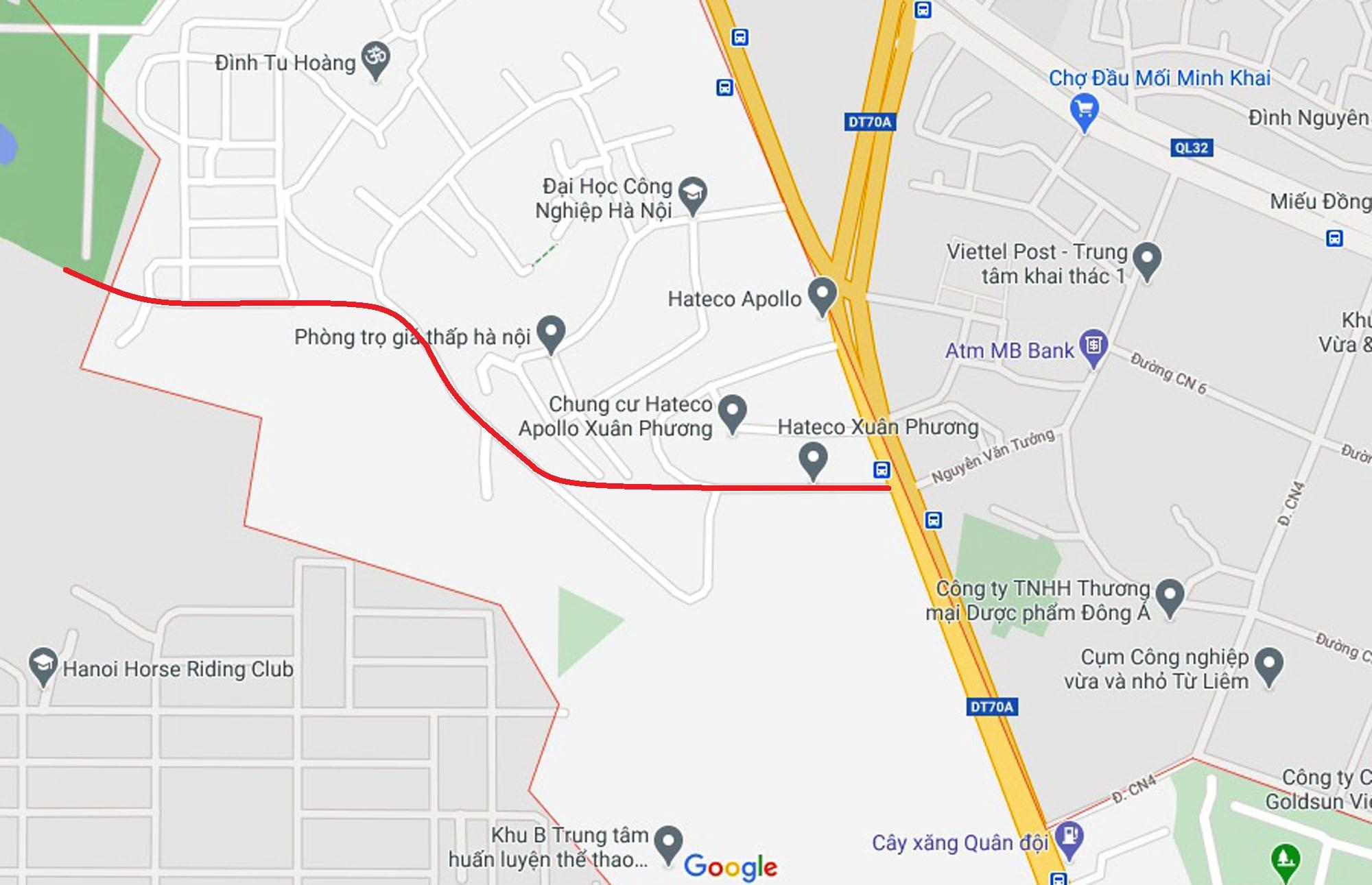 Ba đường sẽ mở theo quy hoạch ở phường Phương Canh, Nam Từ Liêm, Hà Nội (phần 2) - Ảnh 7.