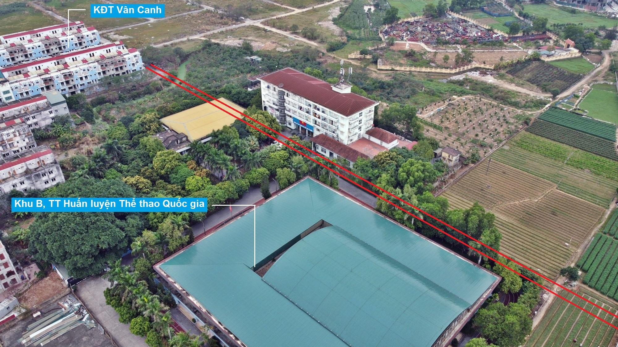 Ba đường sẽ mở theo quy hoạch ở phường Phương Canh, Nam Từ Liêm, Hà Nội (phần 2) - Ảnh 13.