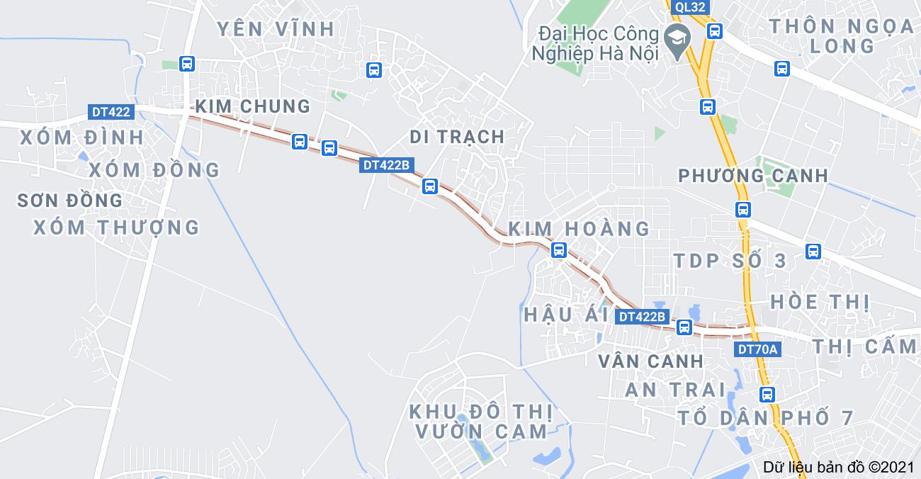 Giá đất đường Tỉnh lộ 422B, Hoài Đức, Hà Nội - Ảnh 1.