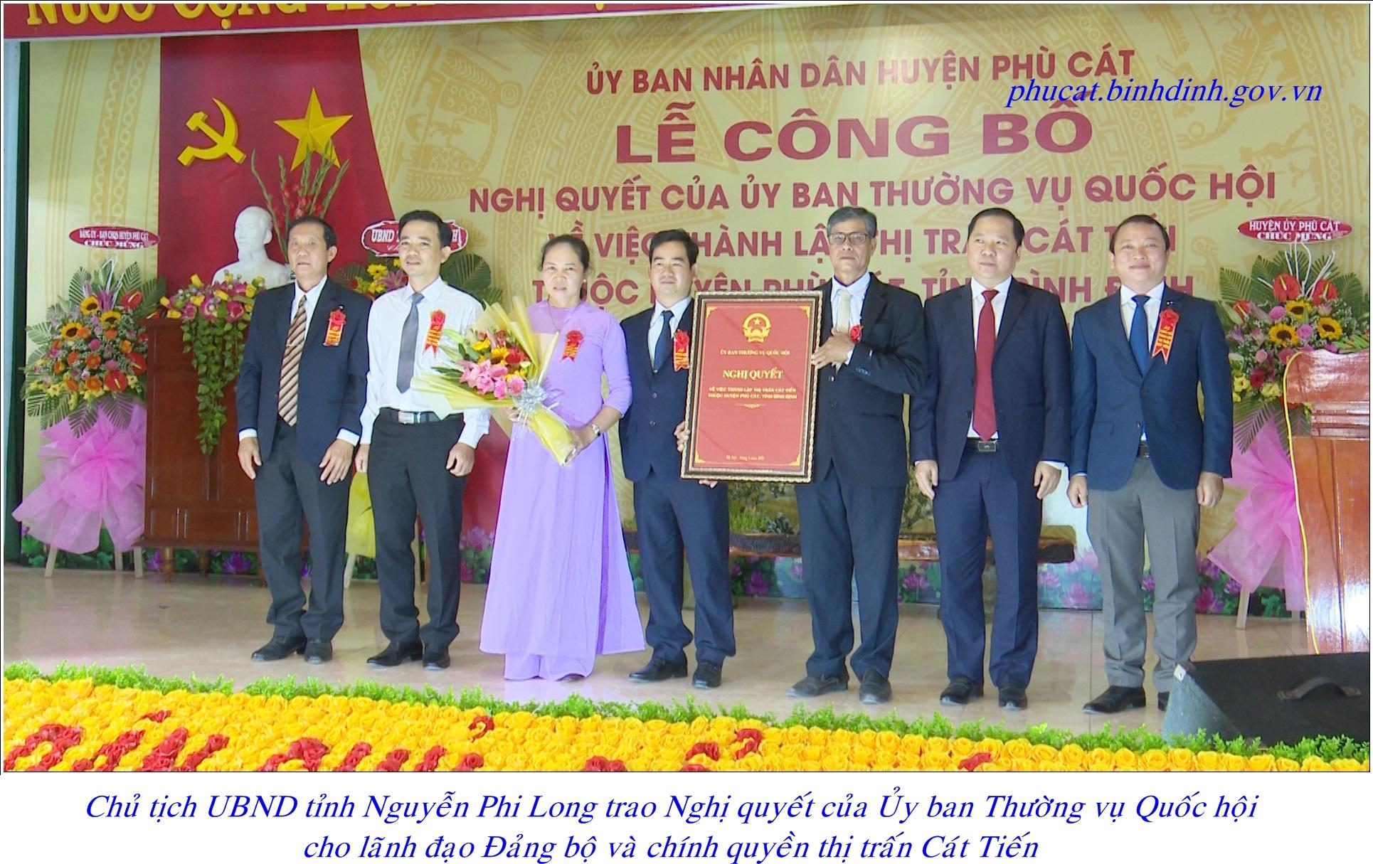 Huyện Phù Cát, Bình Định có thêm một thị trấn - Ảnh 1.