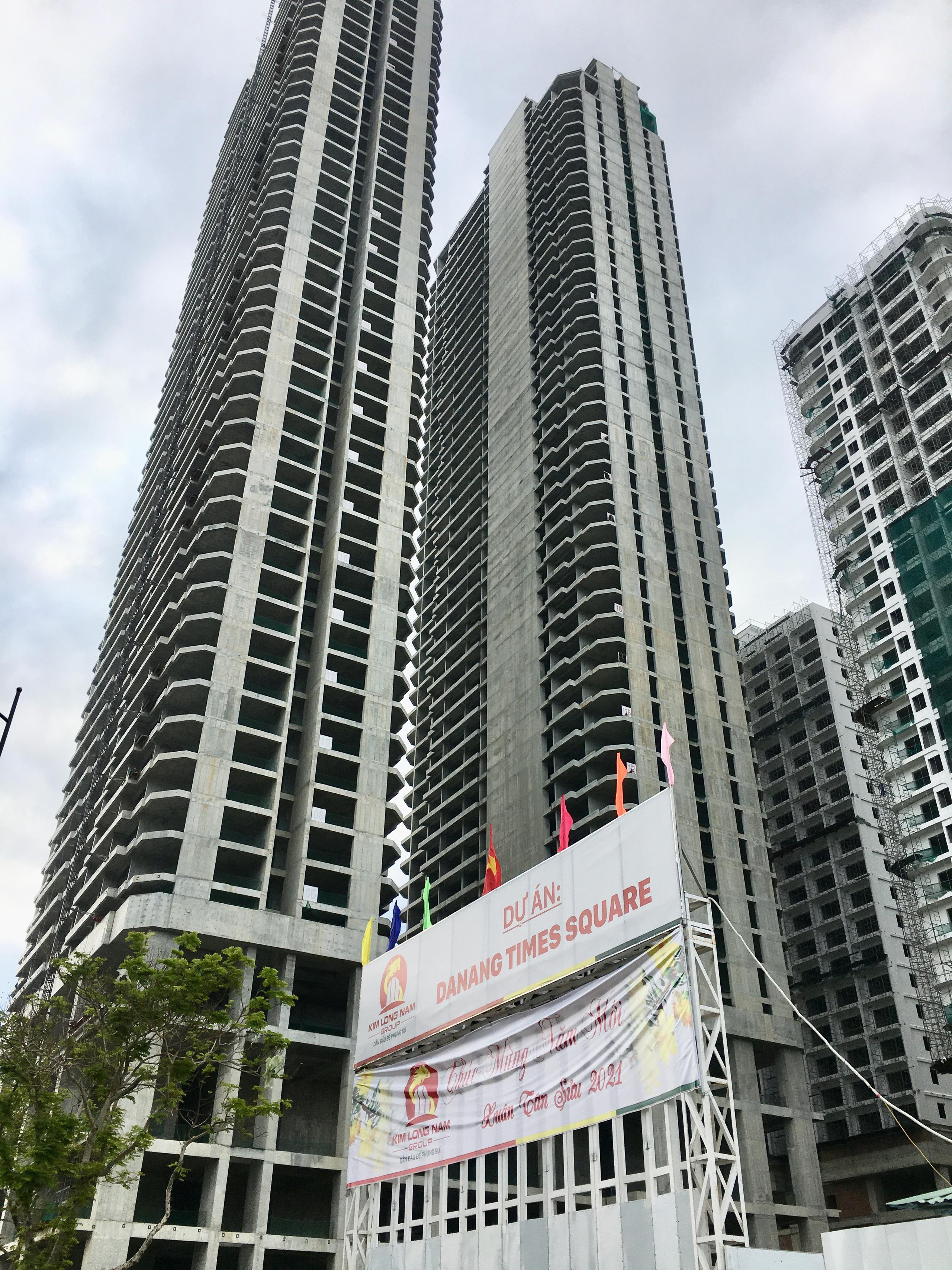 Dự án Da Nang Times Square xin chuyển hàng nghìn căn condotel sang chung cư - Ảnh 1.