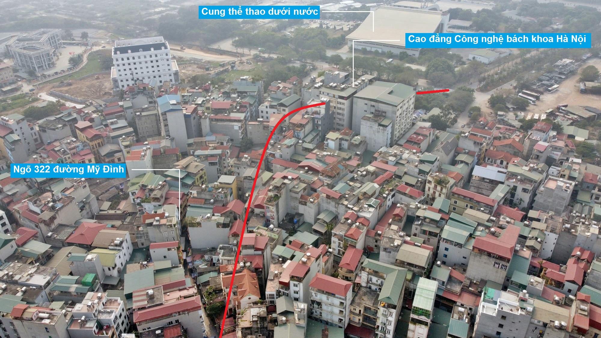 Đường sẽ mở theo qui hoạch ở phường Mỹ Đình 1, Nam Từ Liêm, Hà Nội (phần 2) - Ảnh 3.