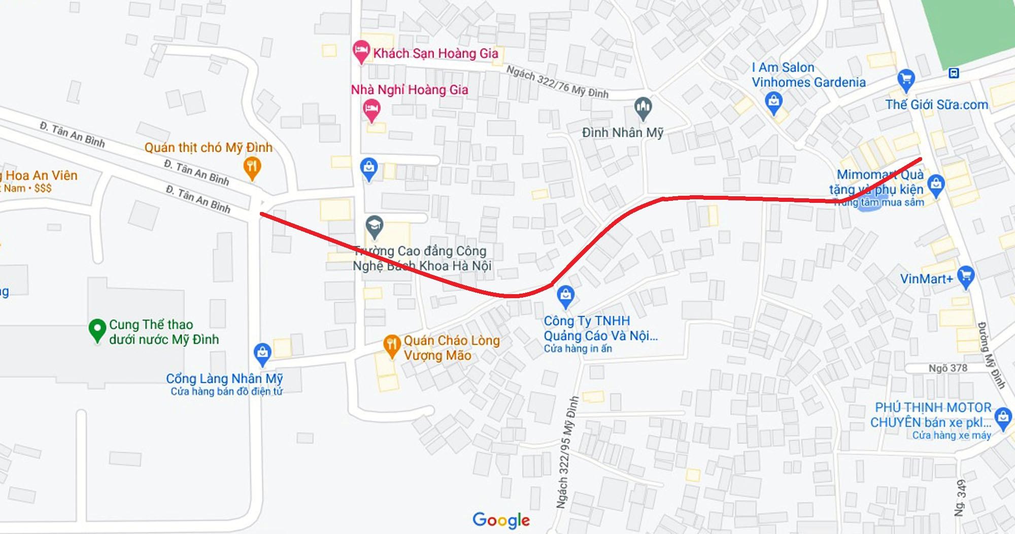 Đường sẽ mở theo qui hoạch ở phường Mỹ Đình 1, Nam Từ Liêm, Hà Nội (phần 2) - Ảnh 2.