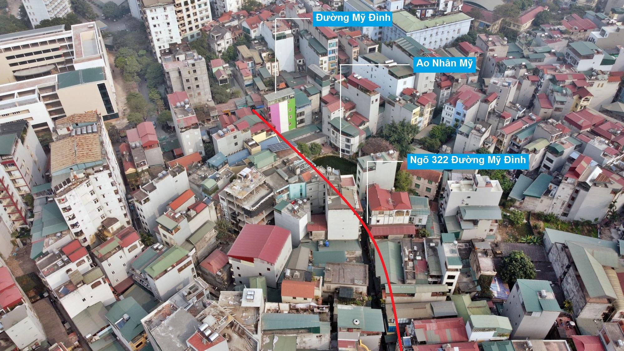 Đường sẽ mở theo qui hoạch ở phường Mỹ Đình 1, Nam Từ Liêm, Hà Nội (phần 2) - Ảnh 5.