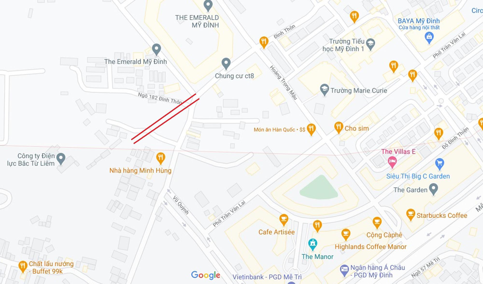 Đường sẽ mở theo qui hoạch ở phường Mỹ Đình 1, Nam Từ Liêm, Hà Nội (phần 2) - Ảnh 6.