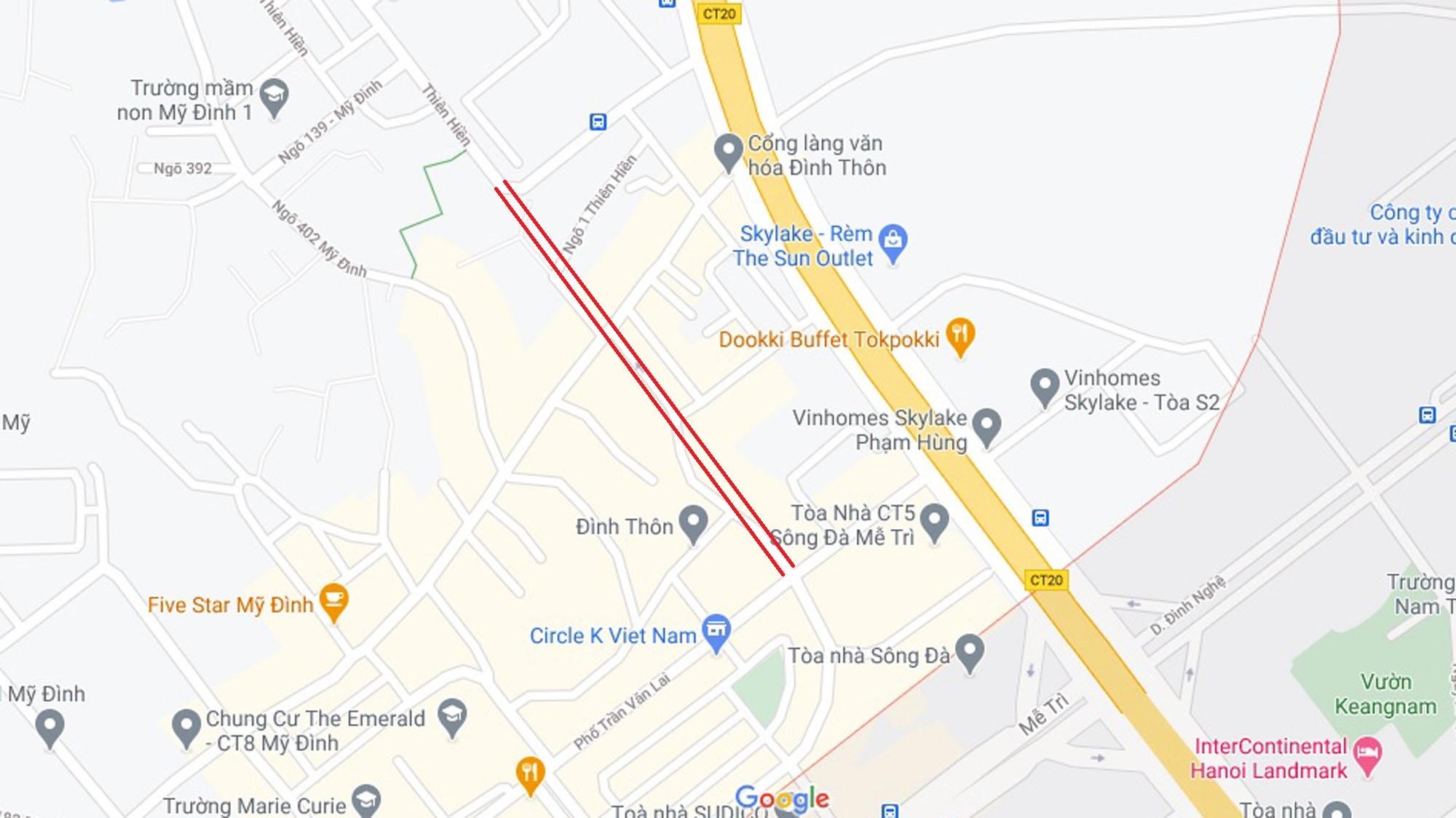 Đường sẽ mở theo qui hoạch ở phường Mỹ Đình 1, Nam Từ Liêm, Hà Nội (phần 2) - Ảnh 10.