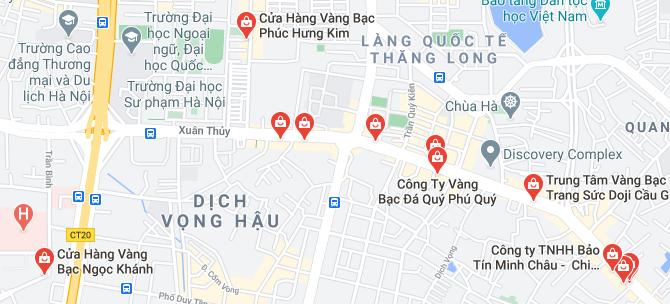 """Những """"phố vàng"""" ở Hà Nội cho ngày vía Thần Tài - Ảnh 4."""