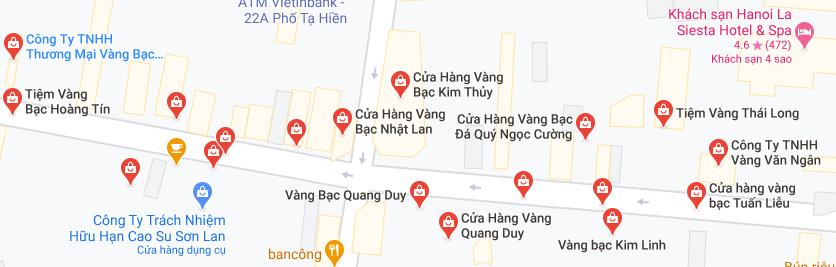 """Những """"phố vàng"""" ở Hà Nội cho ngày vía Thần Tài - Ảnh 2."""