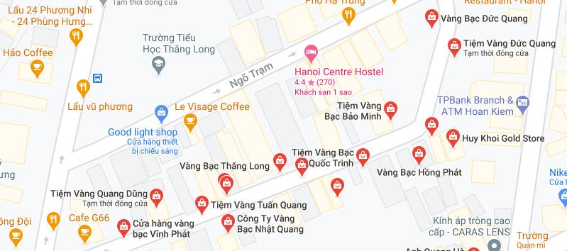 """Những """"phố vàng"""" ở Hà Nội cho ngày vía Thần Tài - Ảnh 3."""