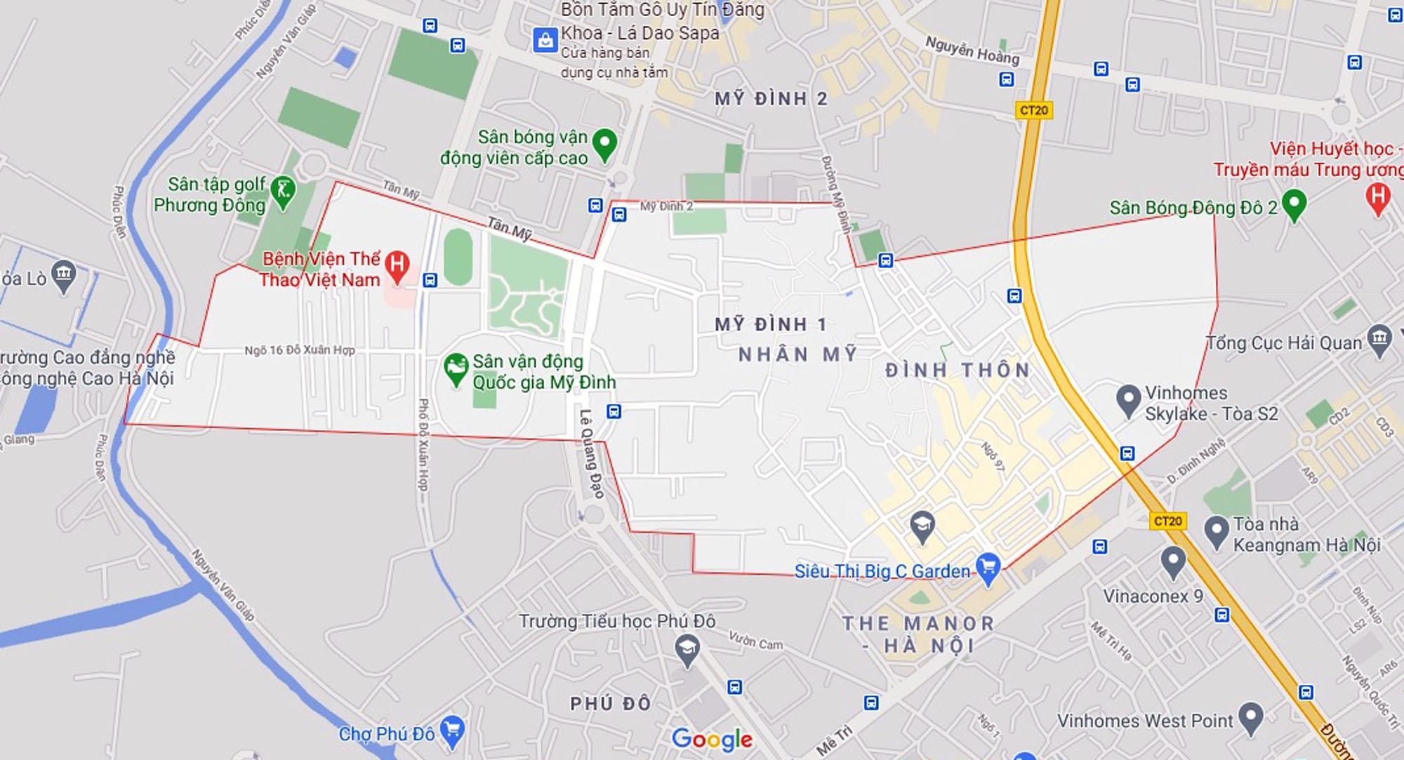 Đường sẽ mở theo qui hoạch ở phường Tây Mỗ, Nam Từ Liêm, Hà Nội (phần 2) - Ảnh 1.