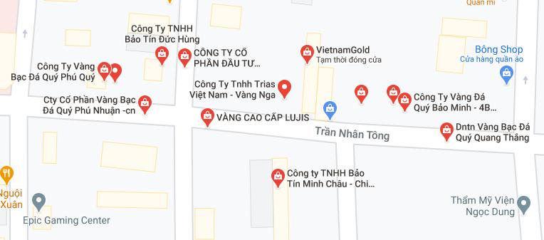 """Những """"phố vàng"""" ở Hà Nội cho ngày vía Thần Tài - Ảnh 1."""