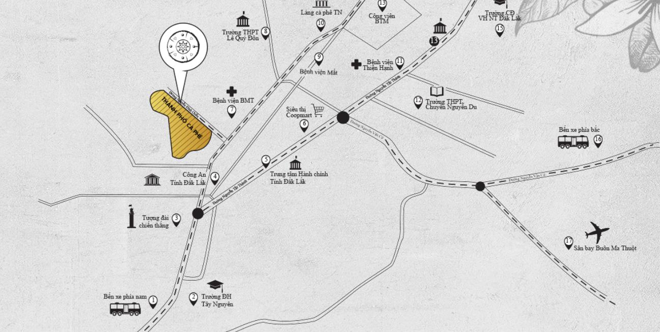 Cà phê Trung Nguyên bước sang lĩnh vực bất động sản với dự án đầu tay tại Đắk Lắk - Ảnh 1.