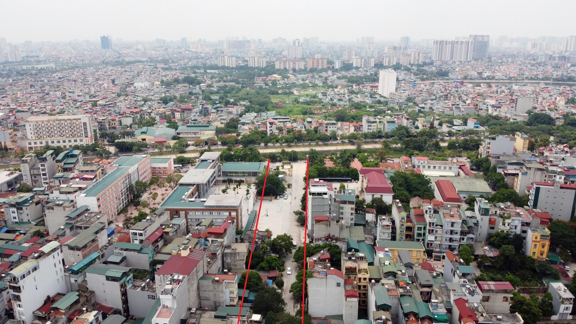 đường sẽ mở theo qui hoạch ở phường Đại Kim, Hoàng Mai, Hà Nội - Ảnh 3.
