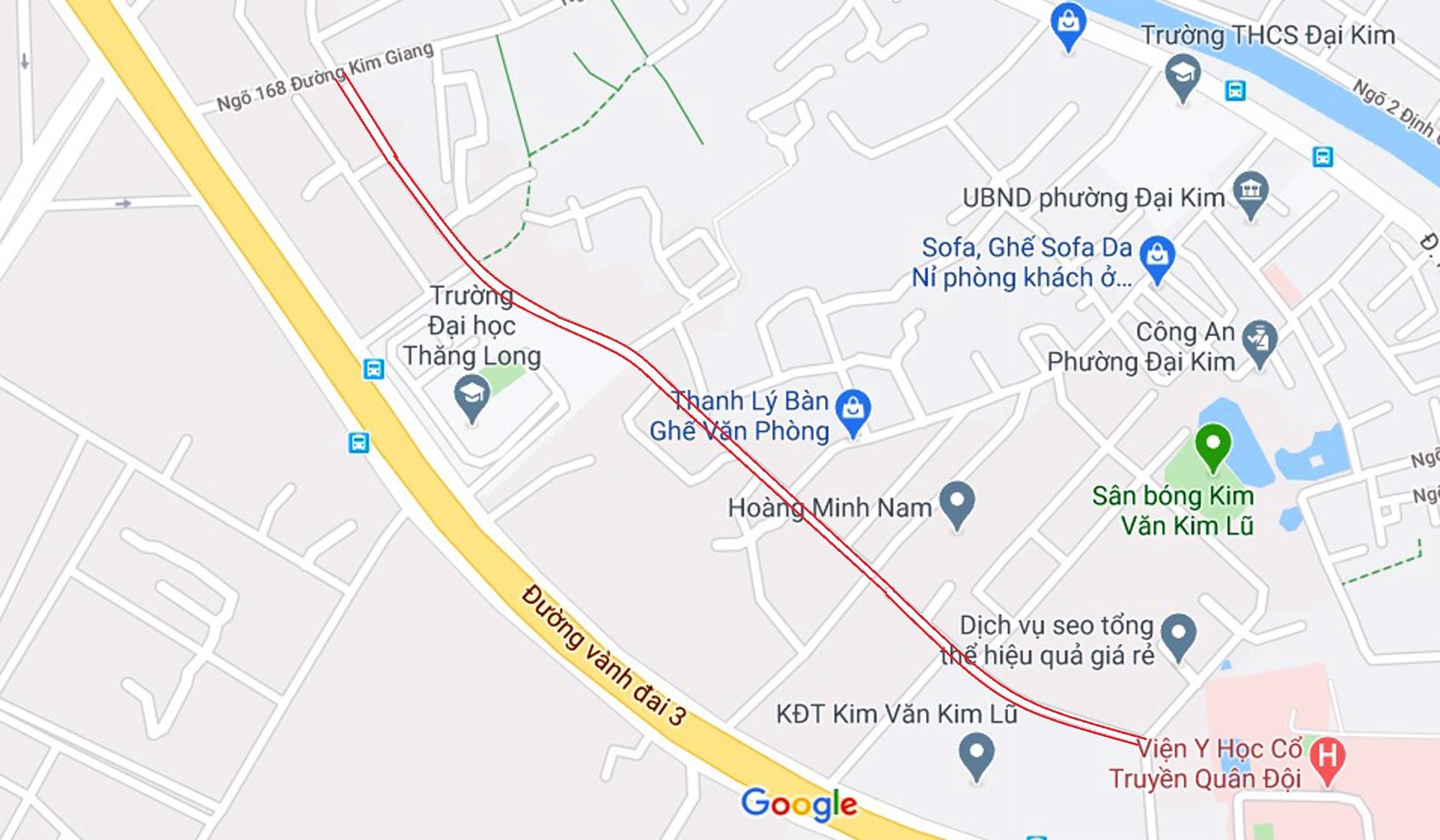 đường sẽ mở theo qui hoạch ở phường Đại Kim, Hoàng Mai, Hà Nội - Ảnh 12.