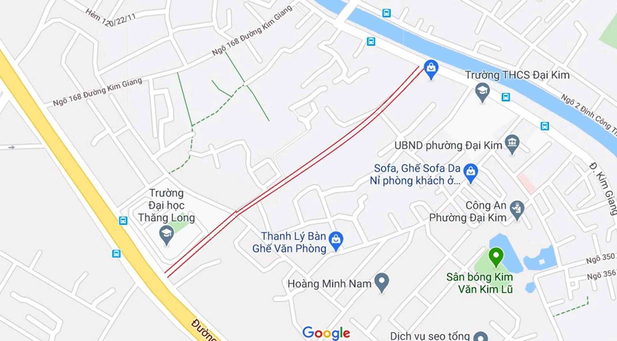 đường sẽ mở theo qui hoạch ở phường Đại Kim, Hoàng Mai, Hà Nội - Ảnh 16.