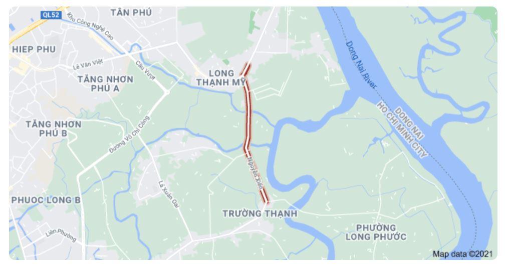 Giá đất đường Nguyễn Xiển, TP Thủ Đức, TP HCM - Ảnh 1.