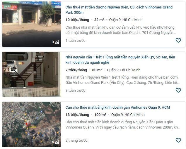 Giá đất đường Nguyễn Xiển, TP Thủ Đức, TP HCM - Ảnh 4.