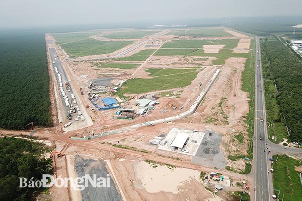 Thêm 4 tiểu dự án tại khu tái định cư sân bay Long Thành đang lựa chọn nhà thầu - Ảnh 1.