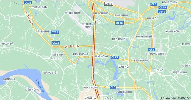 Giá đất đường Võ Văn Kiệt, Đông Anh, Hà Nội - Ảnh 1.
