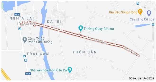 Giá đất đường Đào Duy Tùng, Đông Anh, Hà Nội - Ảnh 1.