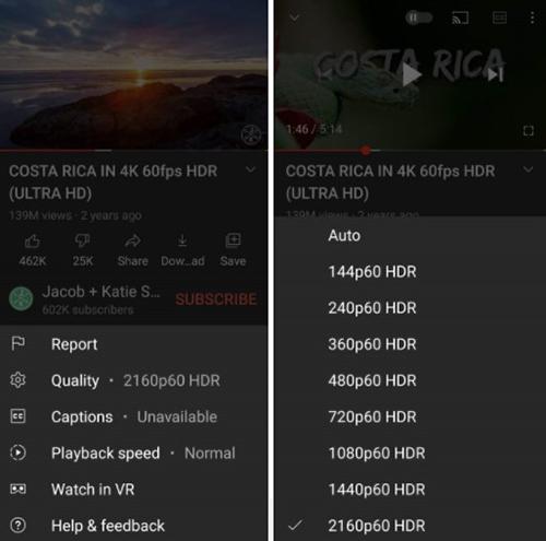 Youtube hỗ trợ điện thoại Android phát lại video với chất lượng 4K - Ảnh 1.