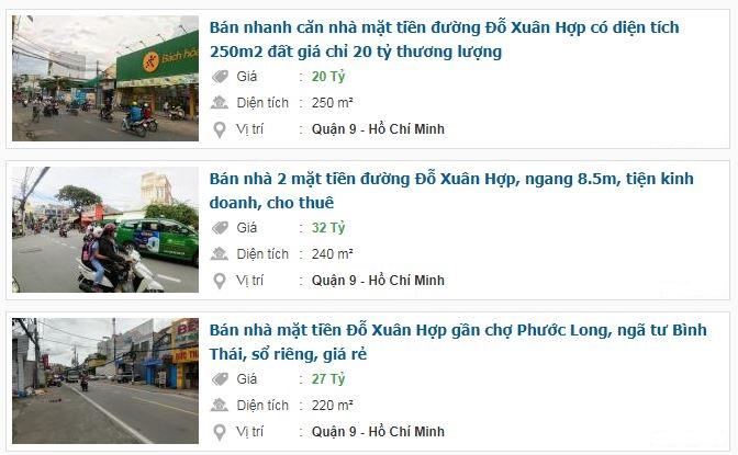 Giá đất đường Đỗ Xuân Hợp, TP Thủ Đức, TP HCM - Ảnh 4.