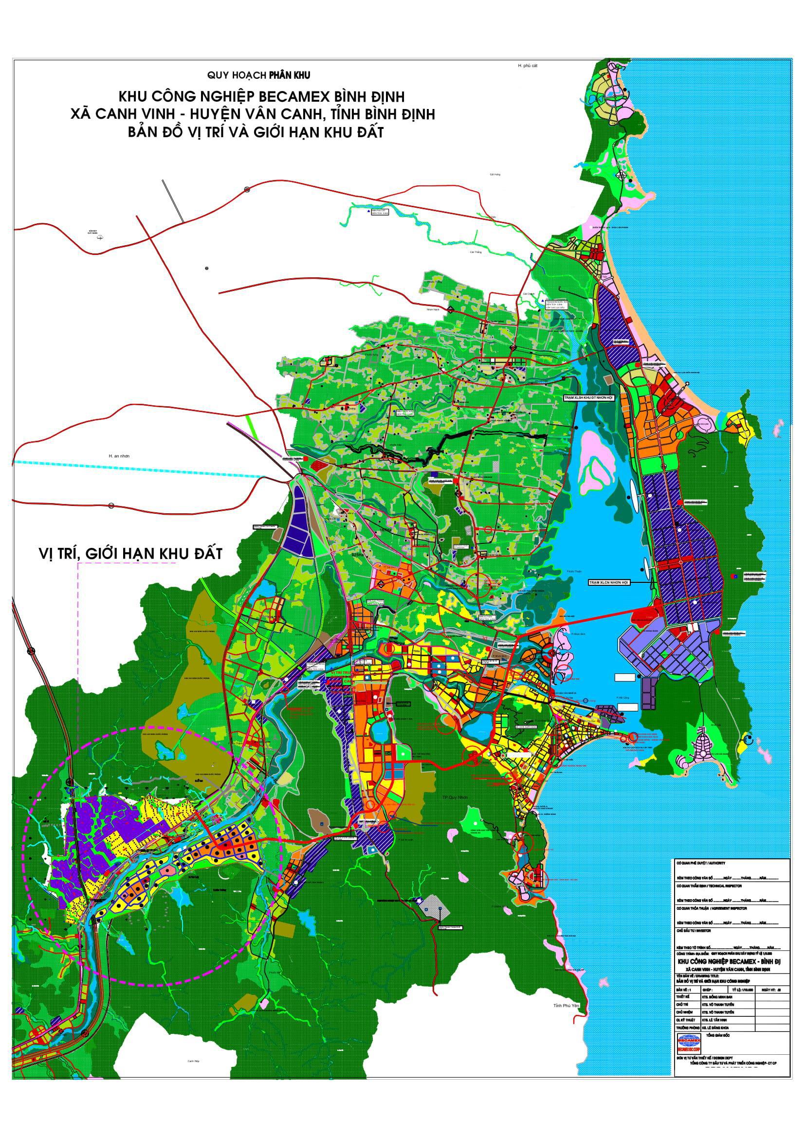 KCN hơn 1.000 ha của Becamex tại Bình Định đang thực hiện tới đâu? - Ảnh 1.