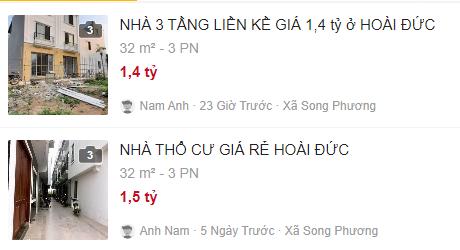 Giá đất đường Sơn Đồng – Song Phương, Hoài Đức, Hà Nội - Ảnh 4.