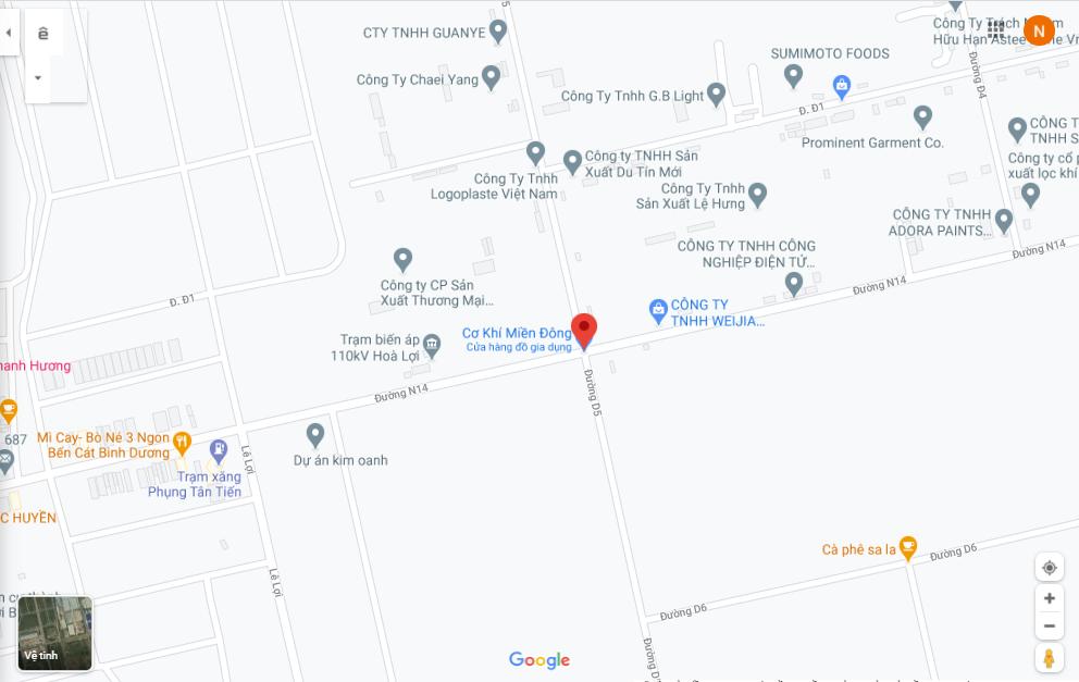 Đấu giá khu đất rộng gần 12.000 m2 tại thị xã Bến Cát, Bình Dương - Ảnh 1.
