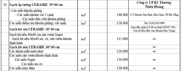 Giá gạch xây dựng tại Đà Nẵng mới nhất - Ảnh 30.