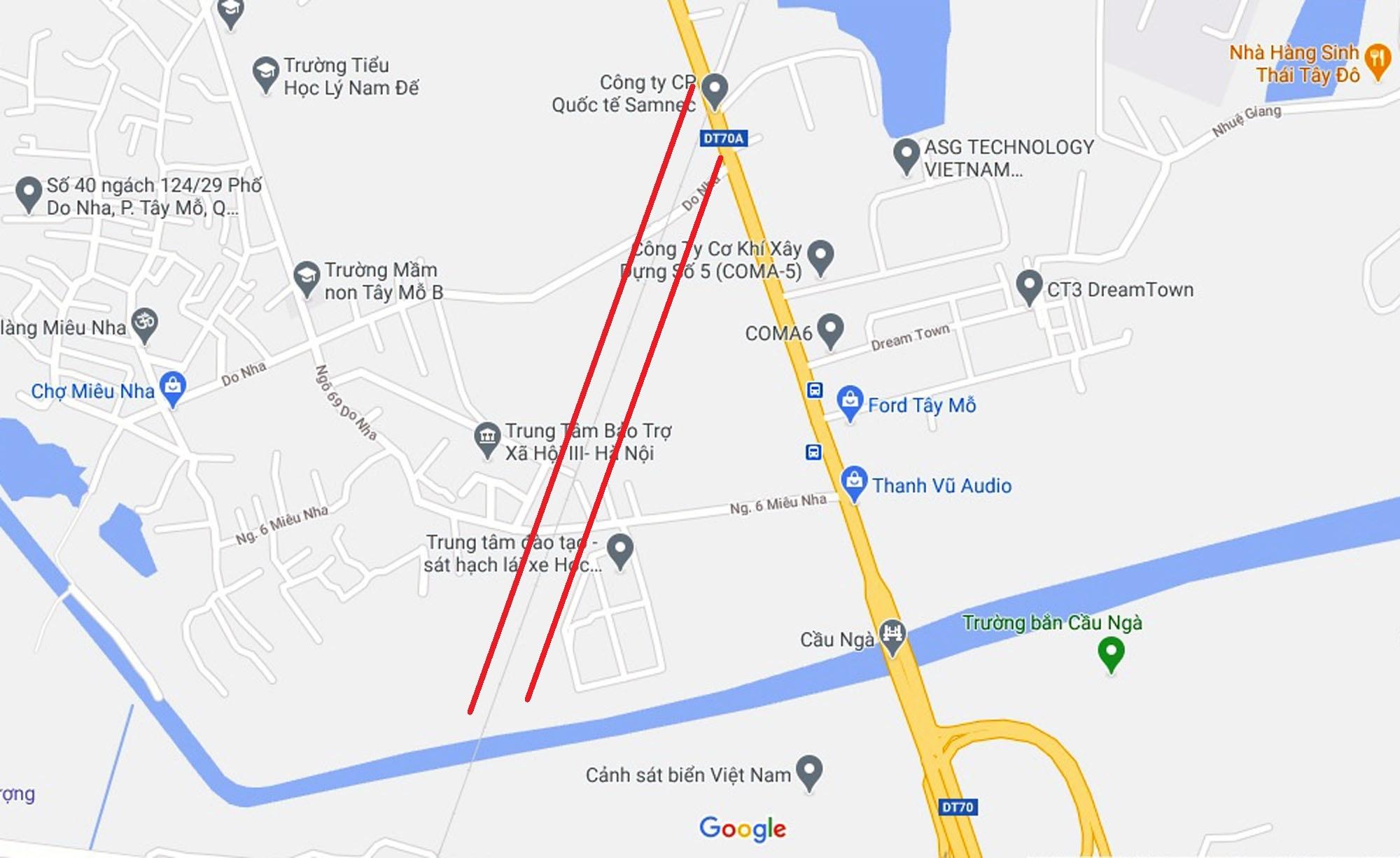 Đường sẽ mở theo quy hoạch ở phường Tây Mỗ, Nam Từ Liêm, Hà Nội (phần 3) - Ảnh 7.
