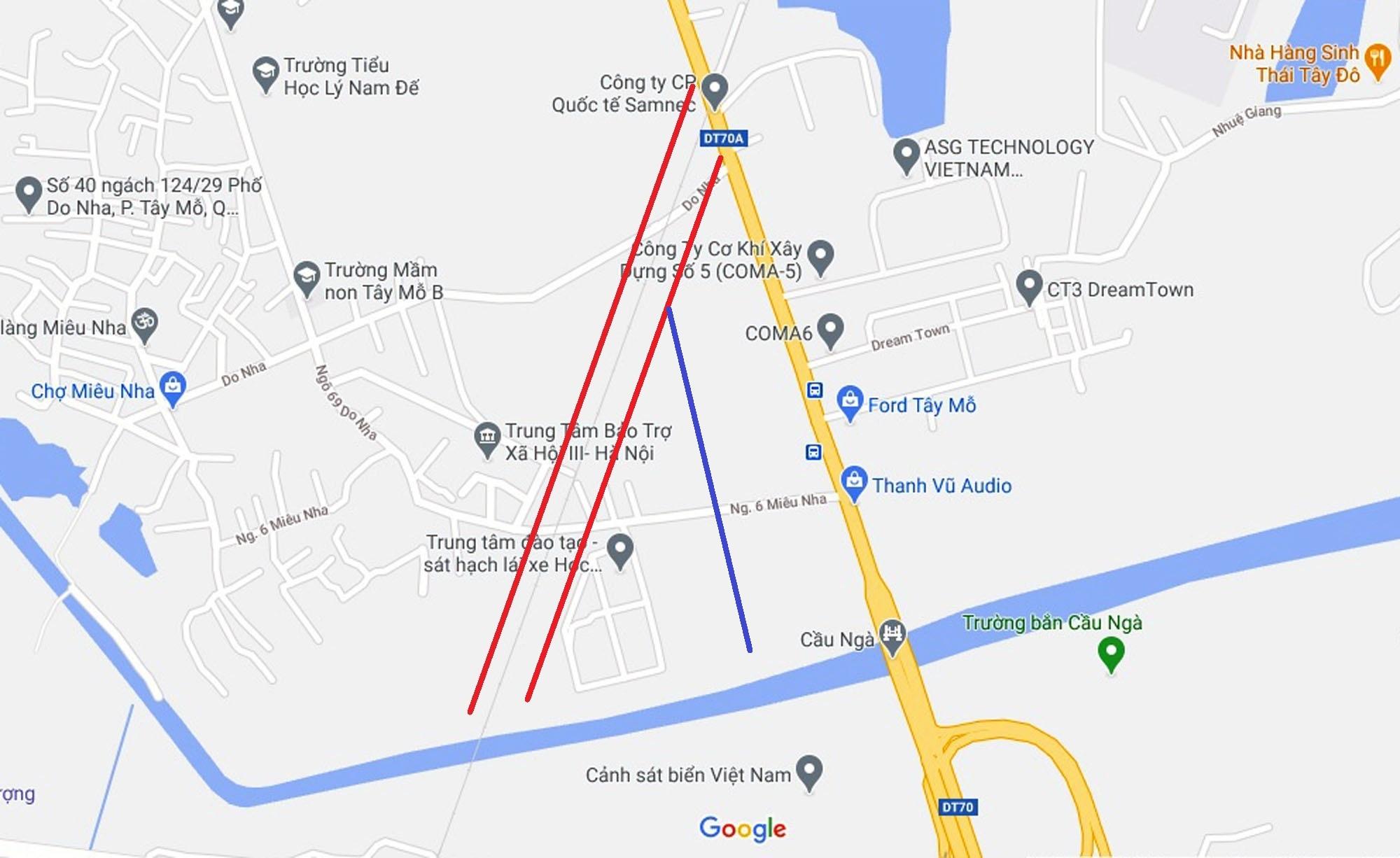 Đường sẽ mở theo quy hoạch ở phường Tây Mỗ, Nam Từ Liêm, Hà Nội (phần 3) - Ảnh 11.