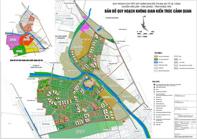 Vị trí chi tiết khu đô thị Đại An và Dream City của Vinhomes ở Hưng Yên theo quy hoạch - Ảnh 3.