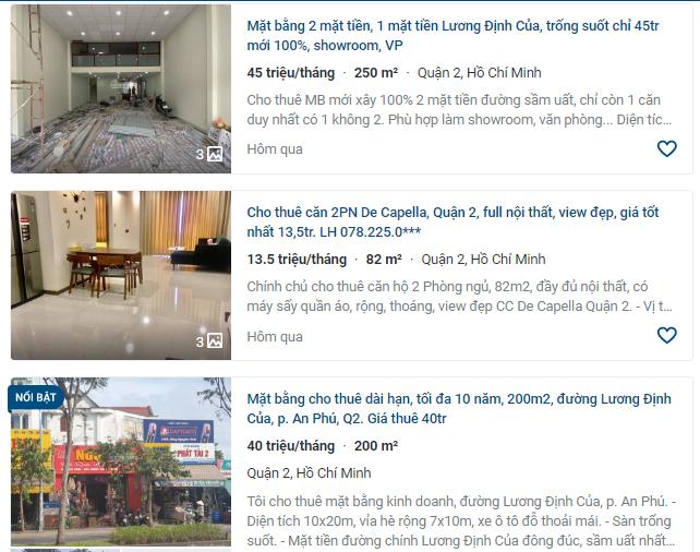 Giá đất đường Lương Định Của, TP Thủ Đức, TP HCM - Ảnh 4.