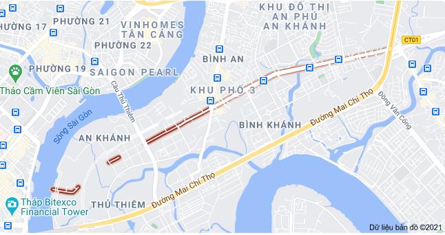 Giá đất đường Lương Định Của, TP Thủ Đức, TP HCM - Ảnh 1.