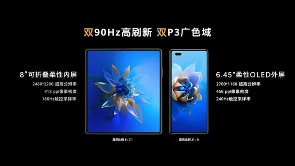 Huawei Mate X2 thiết kế màn hình gập giống Z Fold2 - Ảnh 3.