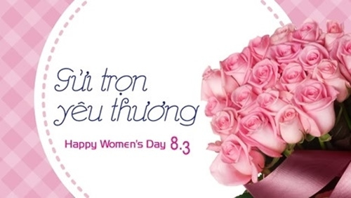 Tham khảo những lời chúc ngày 8/3 hay và ấn tượng cho đồng nghiệp nữ  - Ảnh 2.