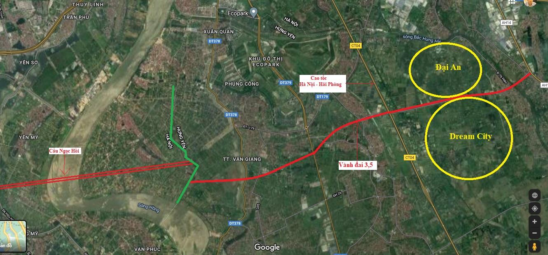 Vị trí chi tiết khu đô thị Đại An và Dream City của Vinhomes ở Hưng Yên theo quy hoạch - Ảnh 7.
