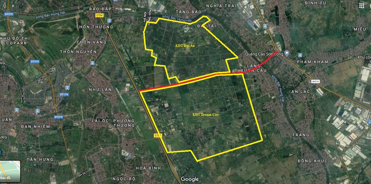 Vị trí chi tiết khu đô thị Đại An và Dream City của Vinhomes ở Hưng Yên theo quy hoạch - Ảnh 4.