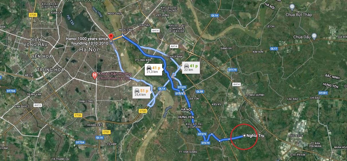 Vị trí chi tiết khu đô thị Đại An và Dream City của Vinhomes ở Hưng Yên theo quy hoạch - Ảnh 1.